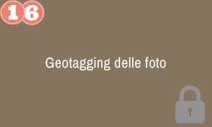 16. Geotagging delle foto
