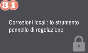 31. Correzioni locali - lo strumento pennello di regolazione